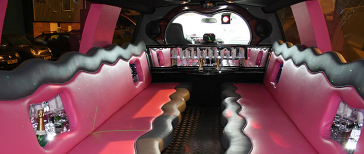 16 Seater 4x4 Pink 'Hummer'